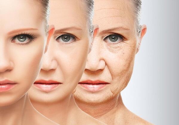 Tác dụng của nước hoa hồng giúp làm chậm quá trình lão hóa da.