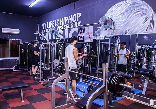 Phòng tập Gym quận Bình Thạnh cho nam nữ mới, chi tiết Nhất