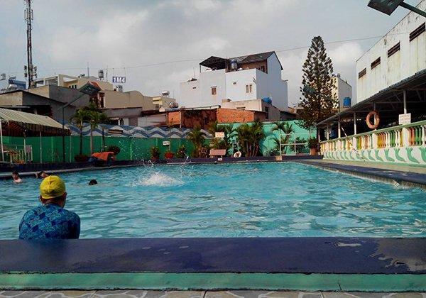Hồ bơi Bến Cát quận Gò Vấp