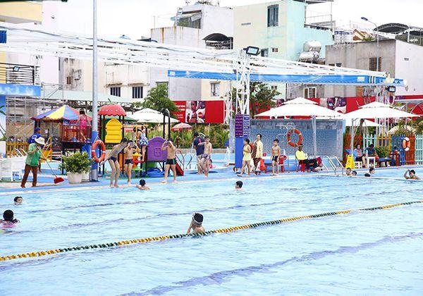 Danh sách hồ bơi Gò Vấp đang hoạt động tốt và giá vé rẻ Nhất
