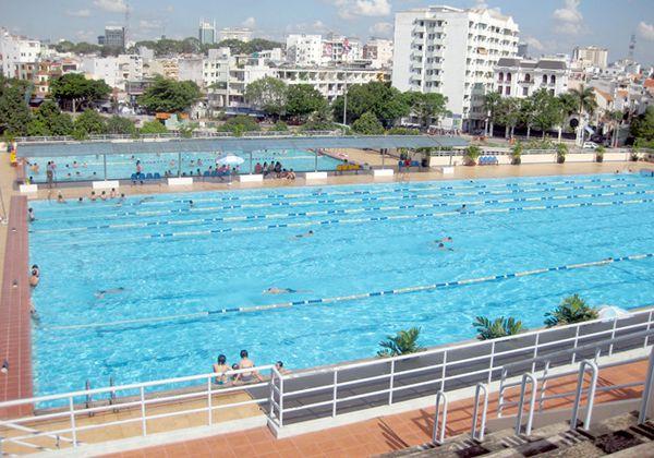 Hồ bơi khu chế xuất Tân Thuận quận 7
