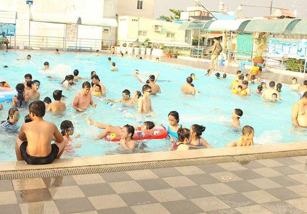 Hồ bơi Nhà thiếu nhi Gò Vấp