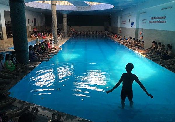 Hồ bơi Thái An quận 12