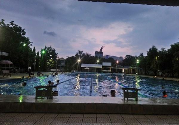 Hồ bơi triển lãm Tân Bình