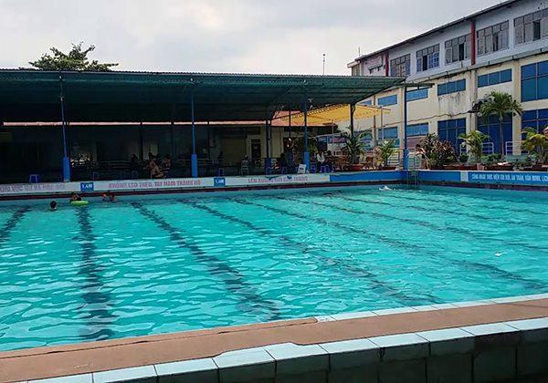 Hồ bơi trung tâm thể thao quận 12
