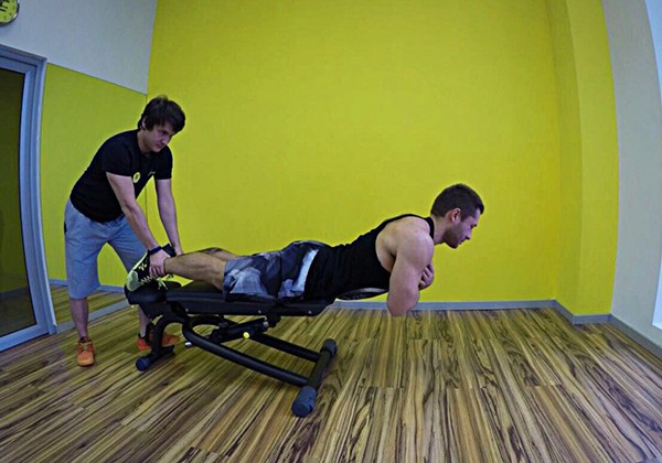 Hyperextensions With No Hyperextension Bench
