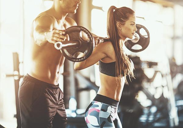 Kết hợp tập thể dục giúp tăng cân