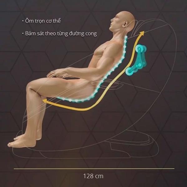 Khung SL ghế massage Fuji Luxury FJ 790 Plus