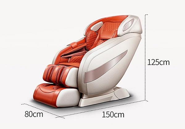 Kích thước ghế massage Sakura 5D Pro