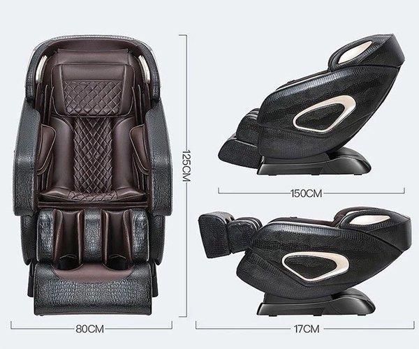 Kích thước ghế massage Sakura C320L-12