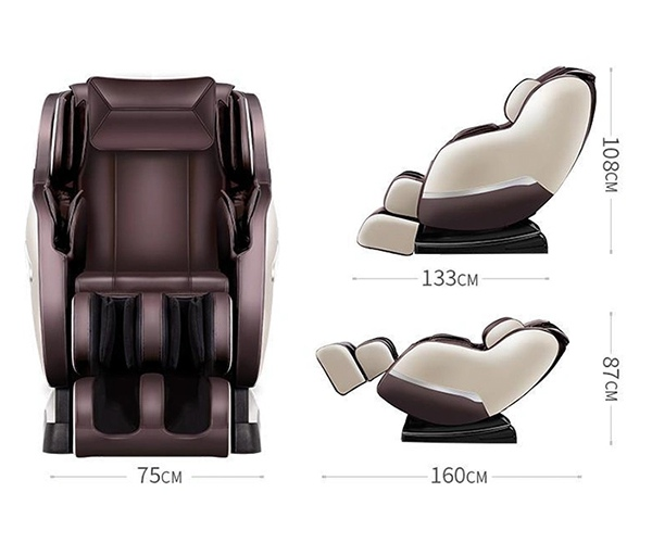 Kích thước ghế Massage Sakura SK 88D