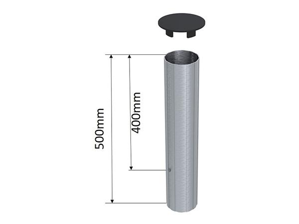 Kích thước nòng trụ bóng chuyền S30357BR