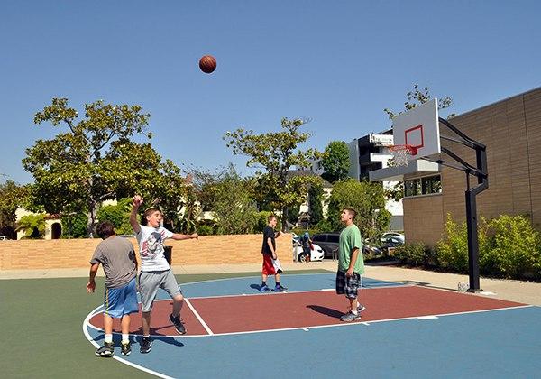 Kích thước sân bóng rổ cho trẻ em (sân bóng Mini) bao nhiêu?