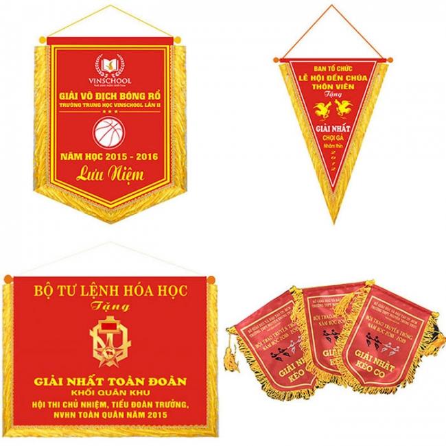 Kiểu dáng cờ lưu niệm
