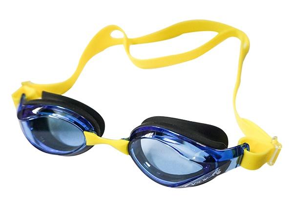Kính bơi View V760 vàng đen