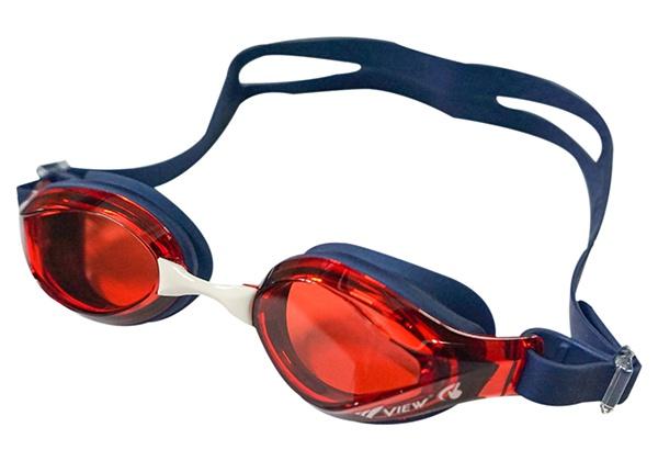 Kính bơi View V760 xanh đen đỏ