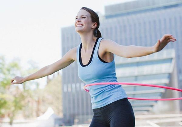 Lắc vòng giúp giảm cân nhanh