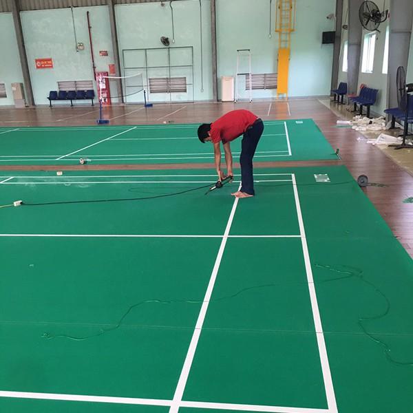 Làm sân cầu lông tại Honda Hà Nam 2