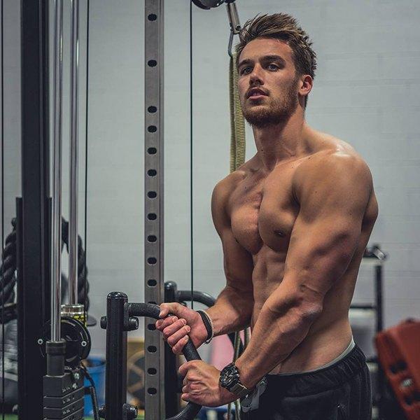 Lịch tập Gym của Marc Fitt