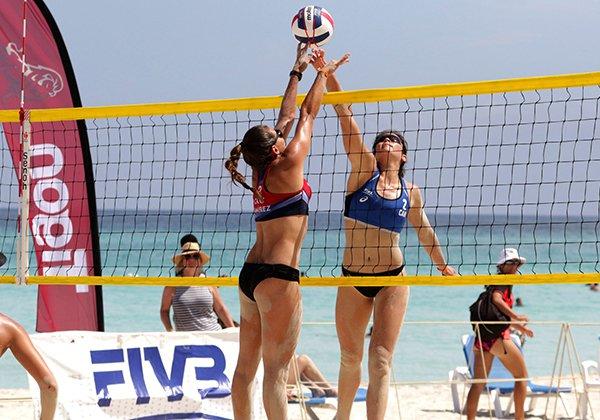Lưới bóng chuyền bãi biển