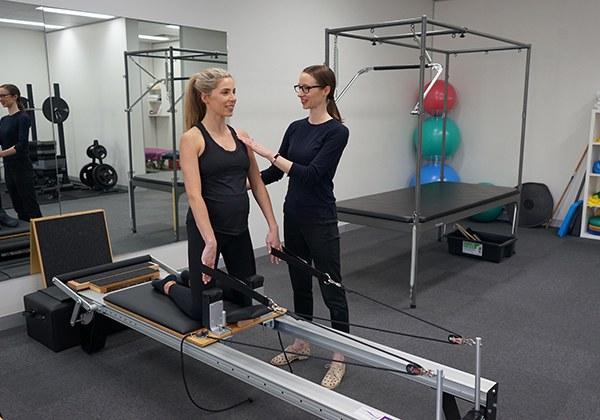 Lưu ý tập Gym khi mang thai