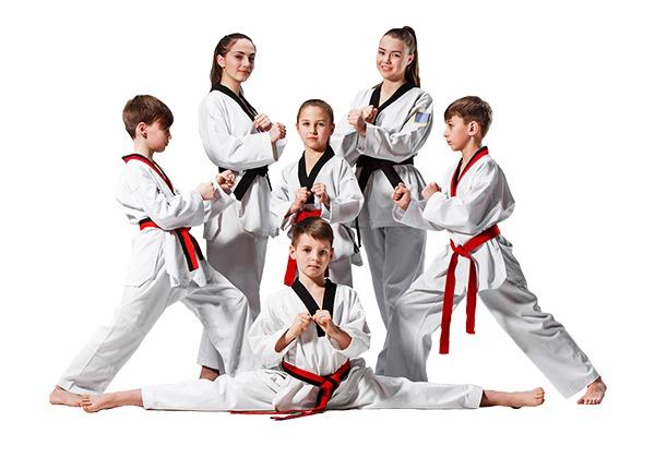 Màu đai trong Taekwondo