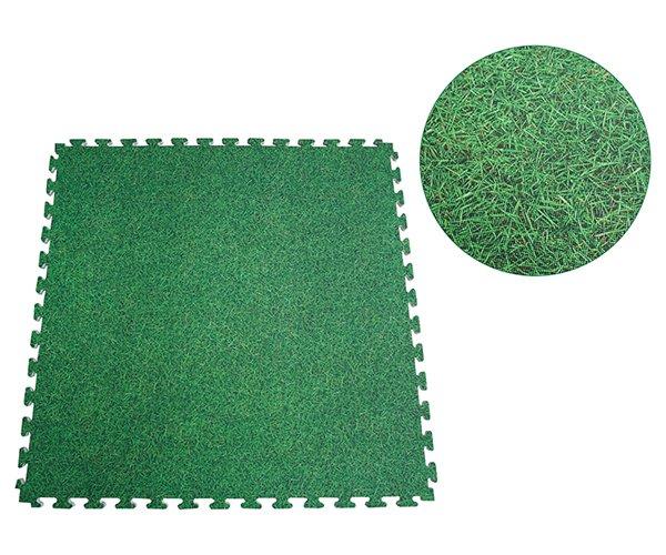 Màu sắc xốp trải sàn vân cỏ