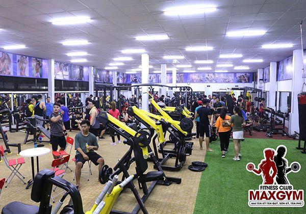 Max Gym quận Tân Phú