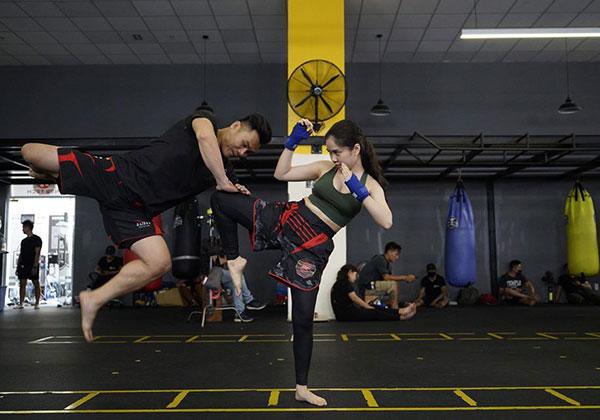 Các lớp học võ tự vệ ở TpHCM chất lượng, đông học viên Nhất