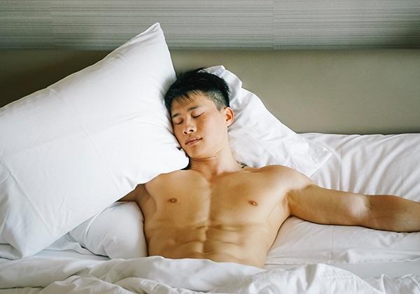 Ngủ ngon giúp tăng cân tăng cơ