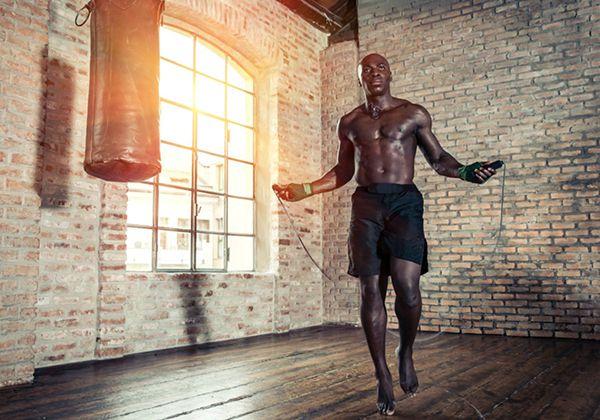 Nhảy dây giảm cân cho người béo chắc