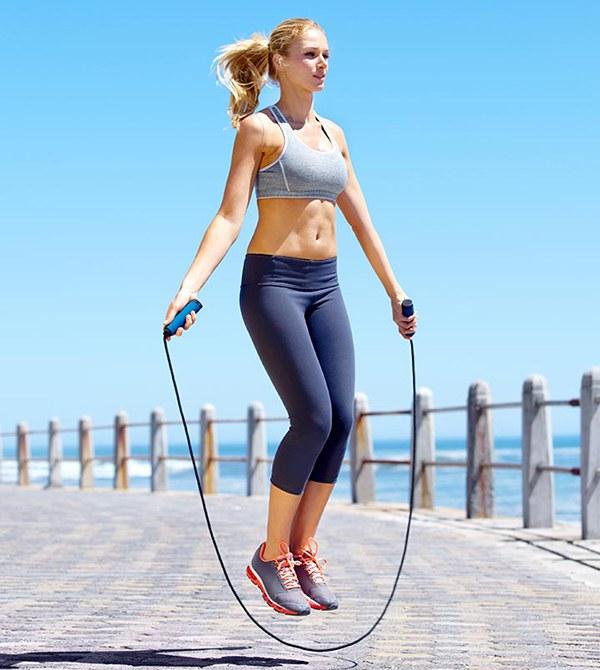 Nhay dây giúp giảm cân nhanh