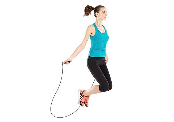 Nhảy dây giúp tăng chiều cao