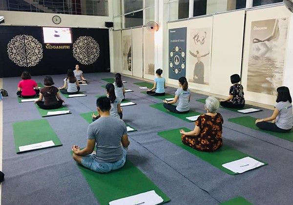 Các phòng tập Yoga Hà Đông chất lượng và đông hội viên Nhất