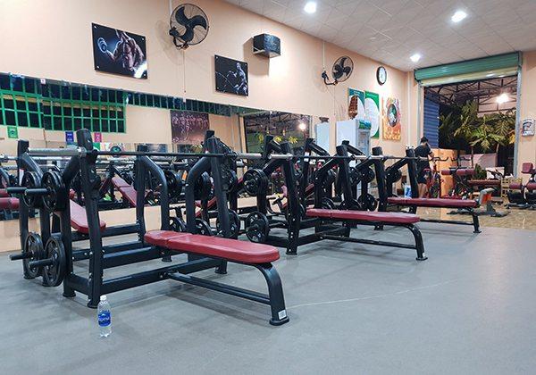 Phòng Gym bình dân