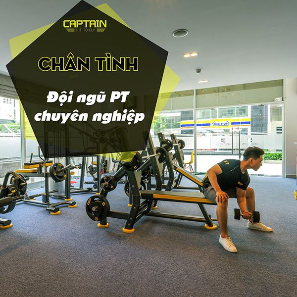Phòng tập Captain Gym & Fitness