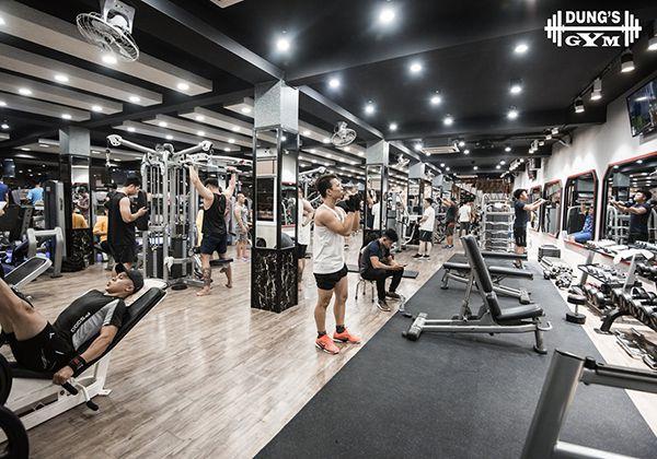 Phòng tập Dung Gym quận 11