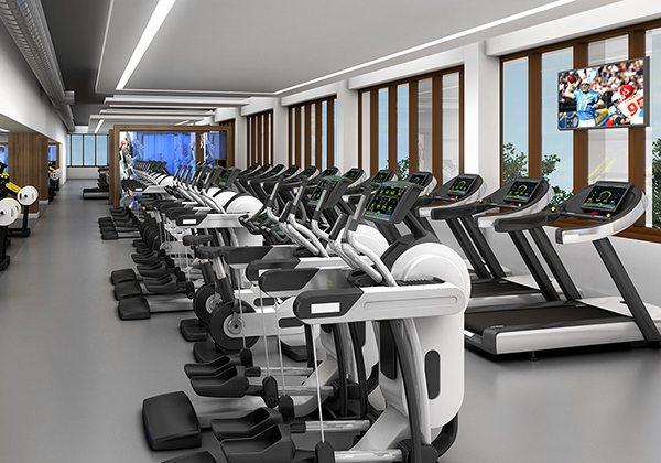 Phòng tập Gym cao cấp