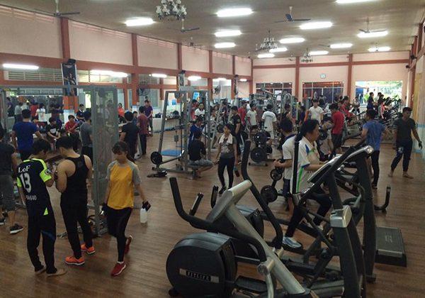 Phòng Gym Đại học Cần Thơ