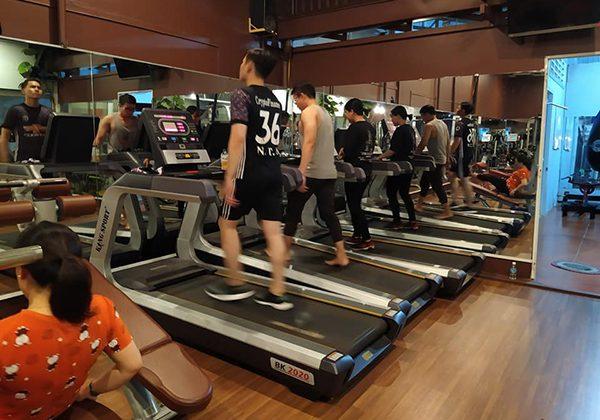 Phòng tập Gym Hồng Mai