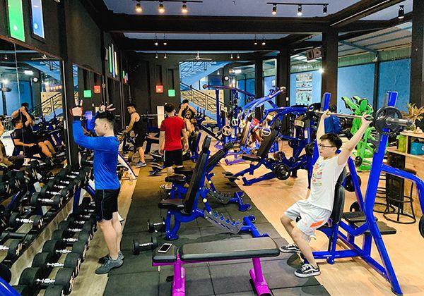 Phòng tập Gym Thái Sơn