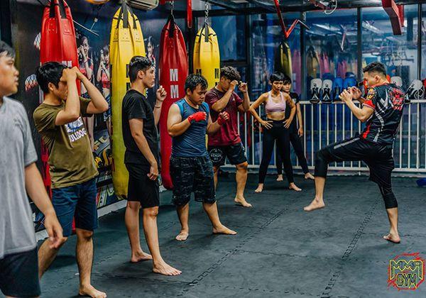 Địa điểm học Muay Thái tại TpHCM thu hút đông hội viên Nhất