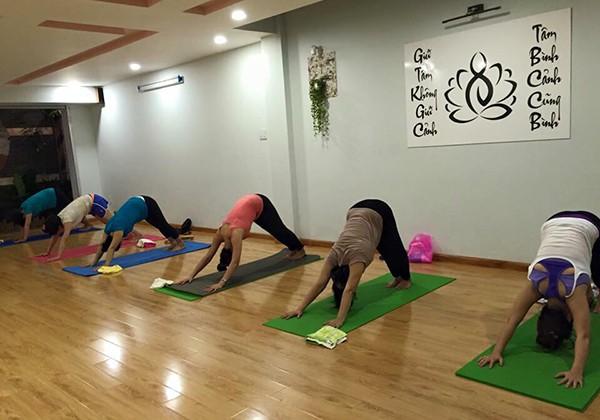 Phòng tập Shanti Spa & Yoga quận 7