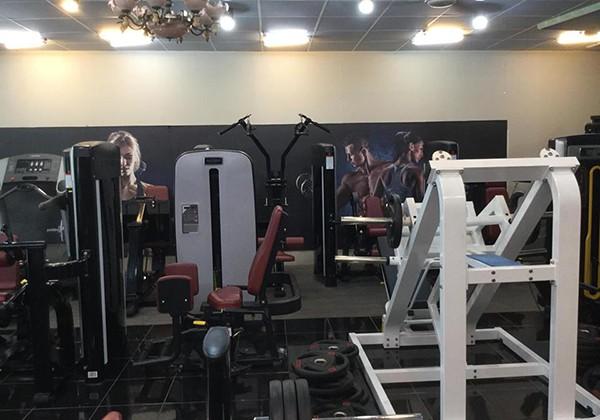 Phòng tập Stronger Gym