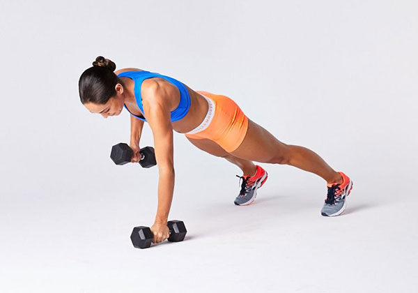 Bài tập Push Up and Row
