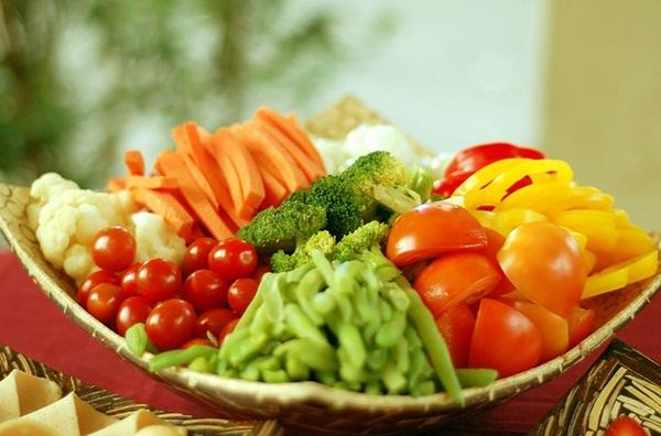 trái cây, rau xanh