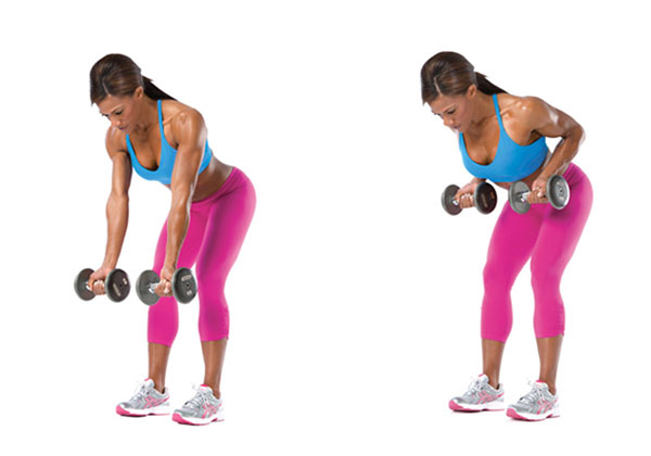 Các bài tập xô với tạ đơn giúp cơ lưng dày, cắt nét cho Gymer !