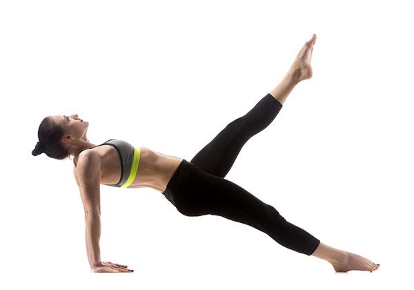Reverse Plank with Leg Raise