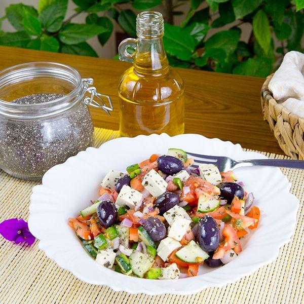 Salad trộn hạt Chia