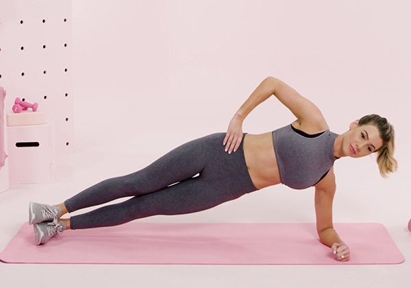 Side Plank giúp nhỏ bụng